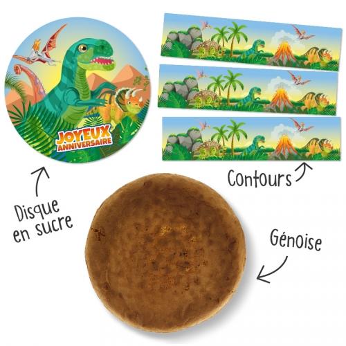 Kit torta Dino