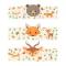 6 Portatovaglioli Animali della foresta - Riciclabile images:#1