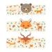 6 Portatovaglioli Animali della foresta - Riciclabile. n°2