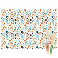 6 Tovagliette Dots - Riciclabile