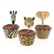 Kit Cupcakes Savana - Riciclabile