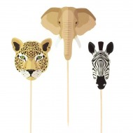 Cake Toppers Savana - Riciclabile