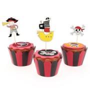 Kit Cupcakes Pirata Color - Riciclabile