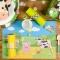 6 Tovagliette Animali della fattoria - Riciclabili images:#1