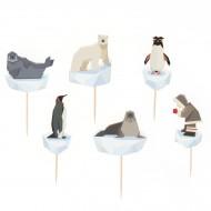 Kit Cupcakes Animali Polari - Riciclabile