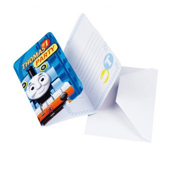 6 Inviti Il trenino Thomas