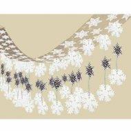 Ghirlanda da soffitto stelle e fiocchi