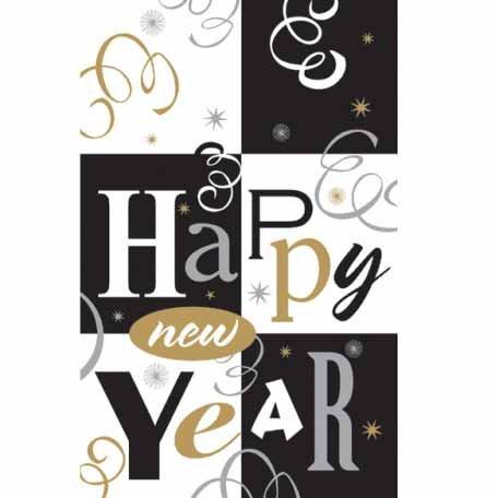Tovaglia Felice Anno Nuovo