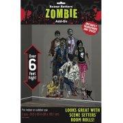 Decorazioni giganti Zombie Family