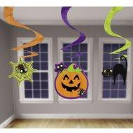 3 ghirlande a spirale Halloween