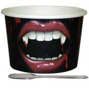12 Coppette per gelato - Bocca vampiro