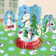 Kit decorazioni da tavola - Pupazzo di neve allegro