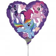 Palloncino con asta My Little Pony Heart