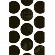 10 sacchetti di carta Pois neri