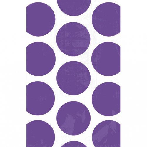 Sacchetti di carta Pois viola