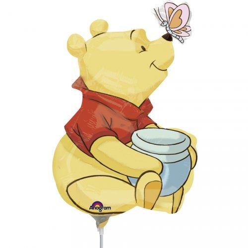 Palloncino con asta Winnie