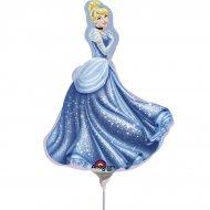 Palloncino con asta Cinderella
