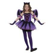 Travestimento da Miss Pipistrello 4-6 anni