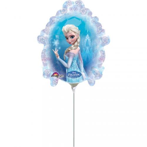 Palloncino con asta La Regina delle Nevi