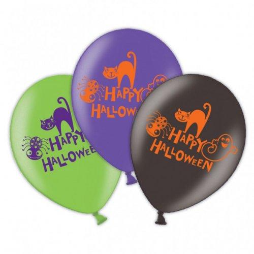 6 Palloncini Happy Halloween