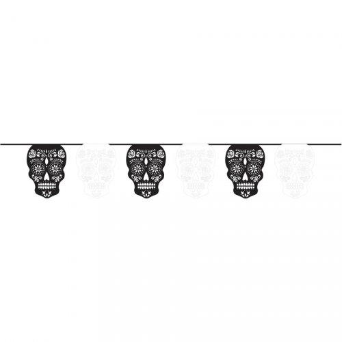 Ghirlanda scheletri Calaveras Papel Picado