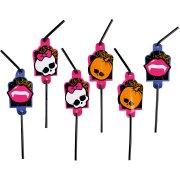8 cannucce Monster High Halloween
