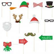 Kit Stand Foto Natale Fun