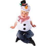 Costume Pupazzo di Neve 3-5 anni