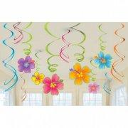 12 decorazioni a spirale Hawaii