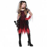 Travestimento da Fidanzata Zombie Gotica taglia 12-14 anni