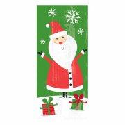20 Sacchetti regalo in cellofan Babbo Natale
