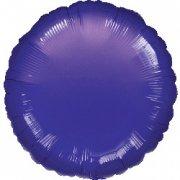 Palloncino Disco viola metallizzato (43 cm)
