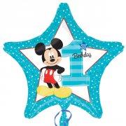 Palloncino piatto Stella Mickey 1 anno
