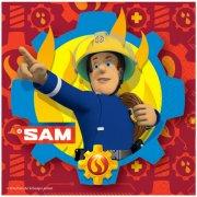 20 Tovaglioli Sam il Pompiere Fireman