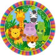 8 Piatti Gli Amici della giungla