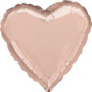 Palloncino Cuore Rosa Gold metallizzato (43cm)