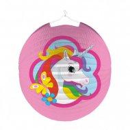 Lanterna unicorno arcobaleno - pallina