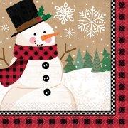16 Tovagliolini Meraviglioso Natale