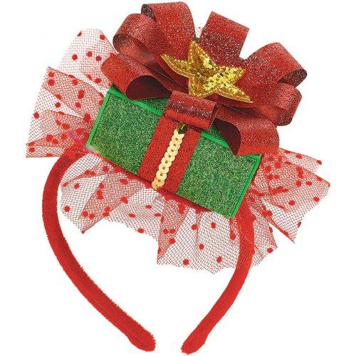 Cerchietto Mini pacchetto di Natale