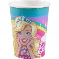 8 Bicchieri Barbie Unicorno