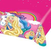 Contiene : 1 x Tovaglia Barbie Unicorno