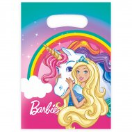 8 Sacchetti Barbie unicorno