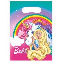 Contiene : 1 x 8 Sacchetti Barbie unicorno