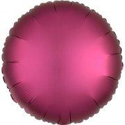 Palloncino Disco Raso Rosa Granata (43 cm)