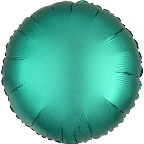 Palloncino Disco Raso Verde Giada (43 cm)