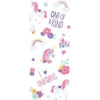 Contiene : 1 x 20 Sacchetti in cellofan Unicorno magico + Etichette