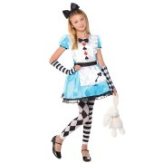 Travestimento Alice Bambino taglia 3-4 anni