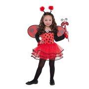 Costume Fata Coccinella 3-4 anni
