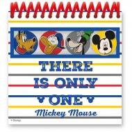 4 Blocchi per appunti Mickey (12,5 cm)