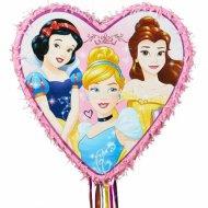 Pull Pignatta 6 Principesse Disney Cuore (46 cm)